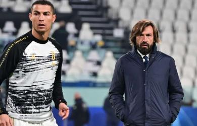 C.Ronaldo bực tức bị thay ra sân sớm, HLV Pirlo lên tiếng