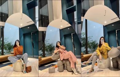 Đẳng cấp như Đàm Thu Trang, diện outfit đơn giản nhưng vẫn toát lên vẻ đẹp đầy sang chảnh